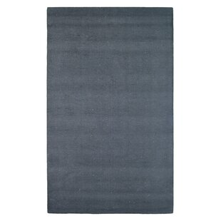 Find for Wool Solid Hand-Tufted Black Area Rug ByEastern Weavers