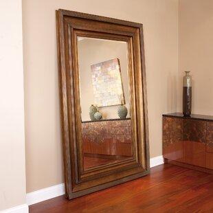 Antique Gold Floor Mirror   Wayfair