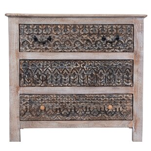Solid Wood And Hand Carved Chest