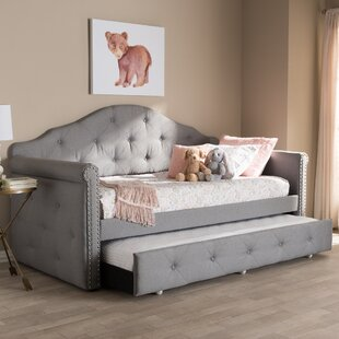 Hulbert Daybed with Trundle by Alcott Hill