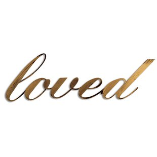 Perfect Loved Wall Décor
