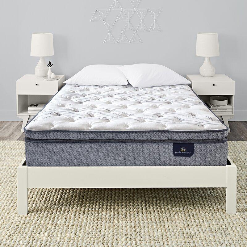 Serta Perfect Sleeper 12 5 Plush Pillow Top Innerspring Mattress