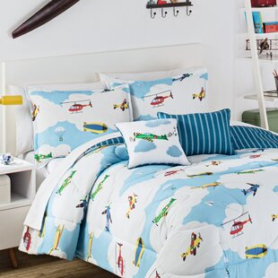 In The Clouds 3 Piece Reversible Comforter Set