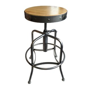 Swivel Adjustable Height Bar Stool