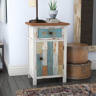 Look for Cecile 1 Drawer Accent Cabinet ByHighland Dunes