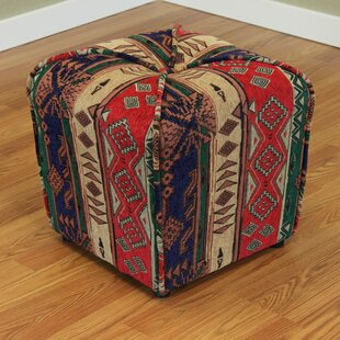 Gullane Cube Ottoman by Breakwater Bay