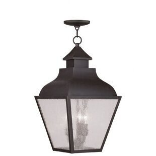 Gahagan 3-Light Outdoor Hanging Lantern