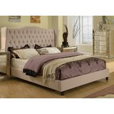 Aman Upholstered Standard Bed by Willa Arlo Interiors