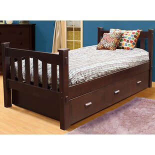 Velda Slat Bed with Trundle By Harriet Bee