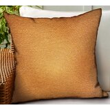 Flack Solid Luxury Indoor/Outdoor Throw Pillow