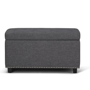 Burling Large Tufted Storage Ottoman