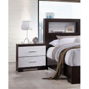 Varnell 2 Drawer Nightstand by Wrought Studio