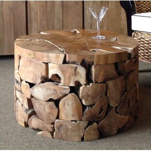 Bulger Teak Coffee Table by Foundry Select