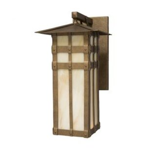 Read Reviews San Carlos 1-Light Outdoor Wall Lantern By Steel Partners