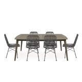 Naima A Table And 6 Chairs Dining Set