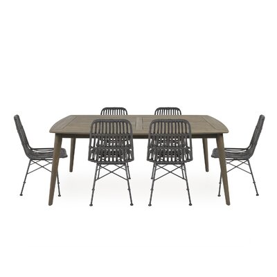 Naima A Table And 6 Chairs Dining Set by Bayou Breeze Spacial Price