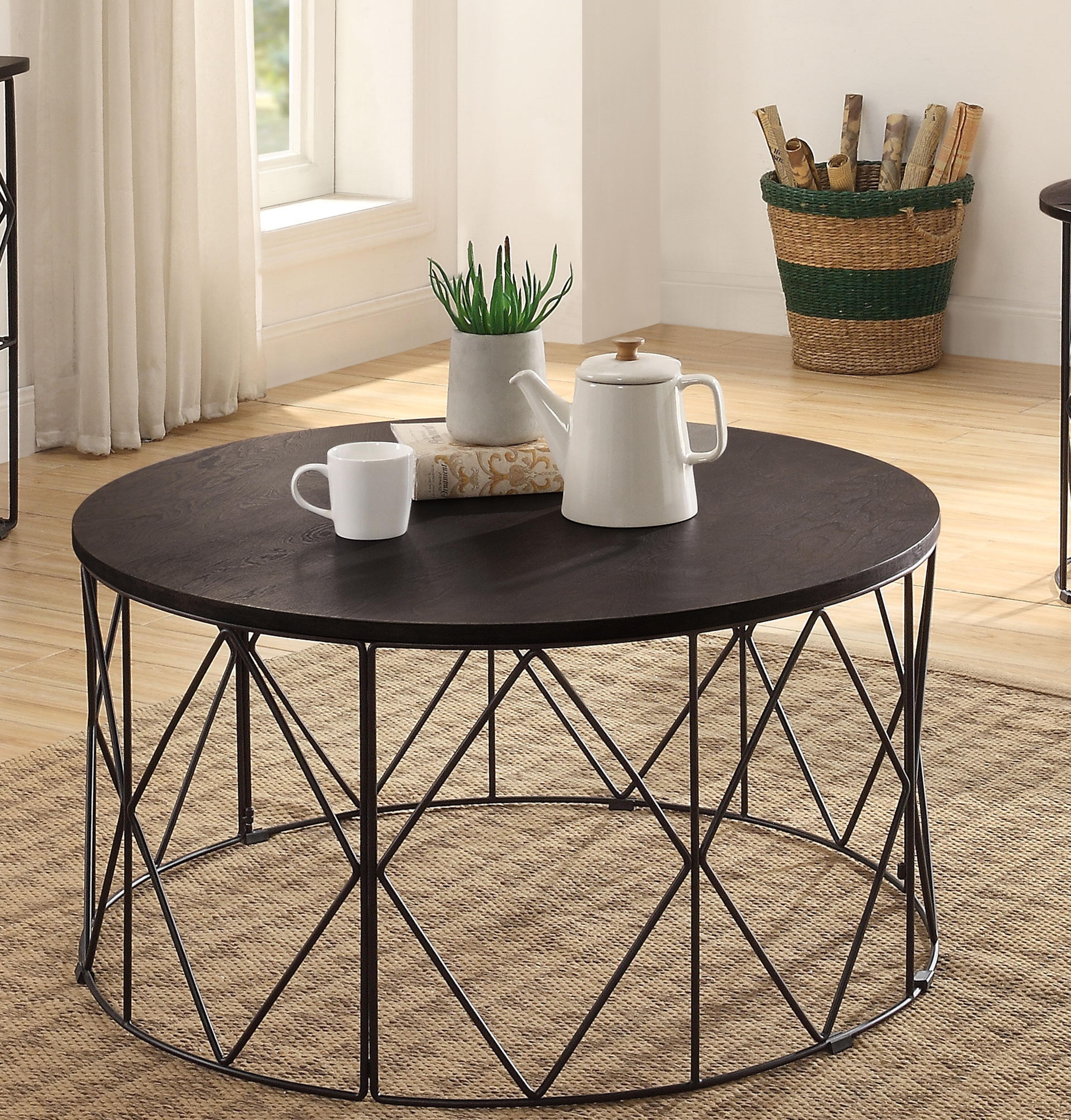 Latitude Run Aksana Frame Coffee Table Wayfair