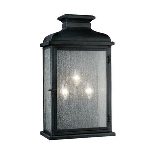 Hazelwood 3-Light Outdoor Flush Mount