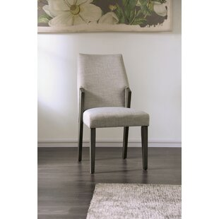 Pignataro Upholstered Dining Chair Set of 2 by Wrought Studio