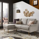 Valerie 75 Reversible Sofa and Chaise by Kingstown Home