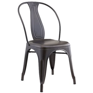 Ludovic Industrial Style Side Chair (Set ..