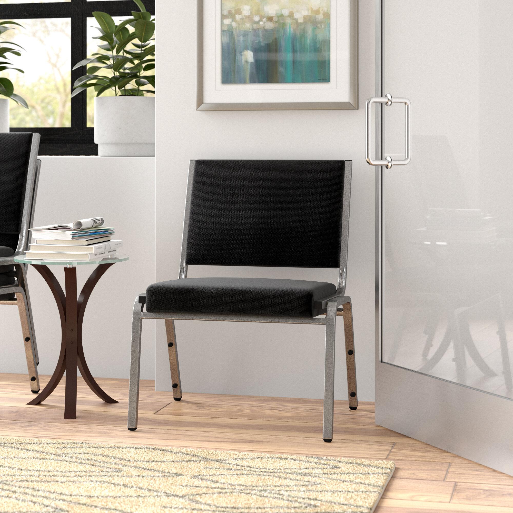 Ebern Designs Macarthur Armless Stackable Chair Wayfair