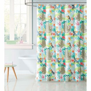 Hollowell Hanging Out Shower Curtain By Zoomie Kids