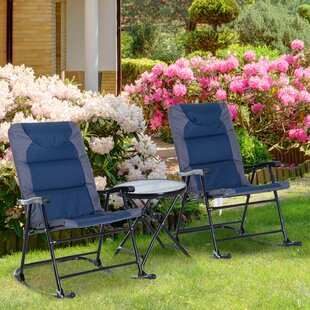 Short Outdoor 3 Piece Conversation Set