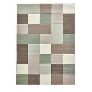 Brooklyn Beige Green Rug