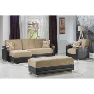 Quaeshia 3 Piece Sleeper Living Room Set by Orren Ellis