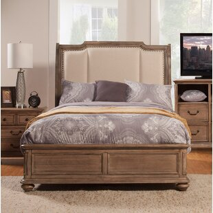 Joutel Upholstered Panel Bed by One Allium Way Looking for