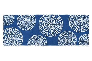 Affordable Hand-Woven Blue/White Area Rug By Kate Nelligan