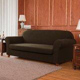 2 Piece Box Cushion Sofa Slipcover Set by subrtex