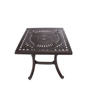 Chiasson Metal Side Table