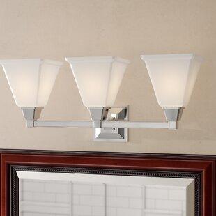 Inexpensive Aleshire 3-Light Vanity Light By Red Barrel Studio