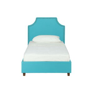 Addie Twin Upholstered Platform Bed by Viv + Rae