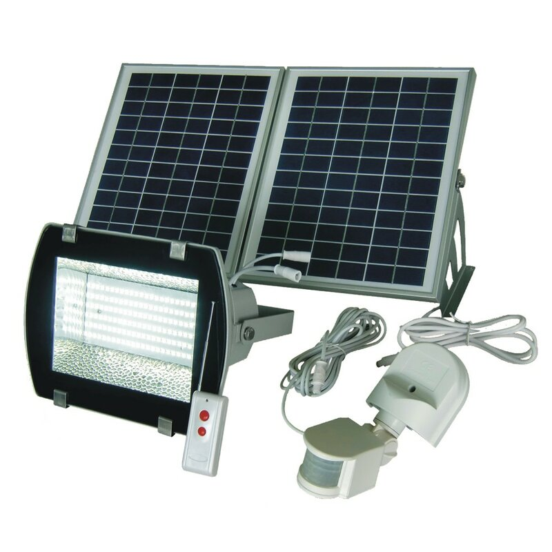 Goes Green Solar Outdoor Security