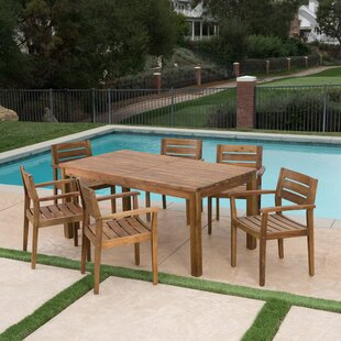 Mangrum 7 Piece Extendable Dining Set