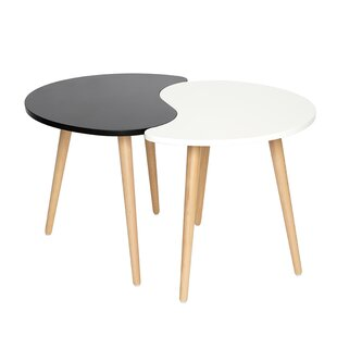 Elvie 2 Piece Coffee Table Set