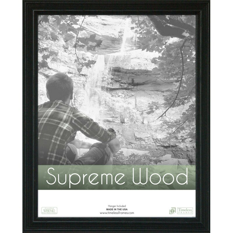 Beachcrest Home Oak Ridge Rectangle Solid Wood Picture Frame ...