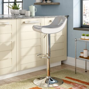 Brescia Adjustable Height Swivel Bar Stool
