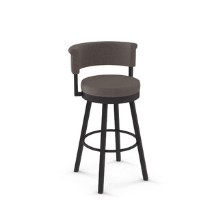 Read Reviews Rosco 30.75 Swivel Bar Stool by Amisco Reviews (2019) & Buyer's Guide