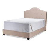Roberdeau King Tufted Upholstered Low Profile Standard Bed by Red Barrel Studio®