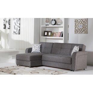 Vitelli 1055 Left Hand Facing Sleeper Sofa  Chaise by Orren Ellis