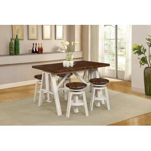Adalbert 5 Piece Dining Set August Grove