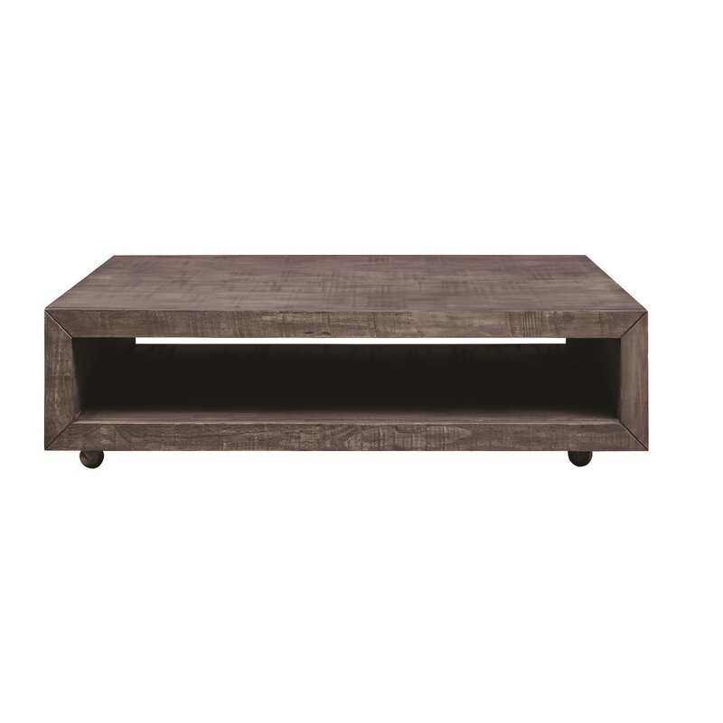 17 Stories  Balfour Square Coffee Table with Casters