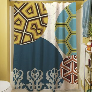 Paper Lanterns II Single Shower Curtain