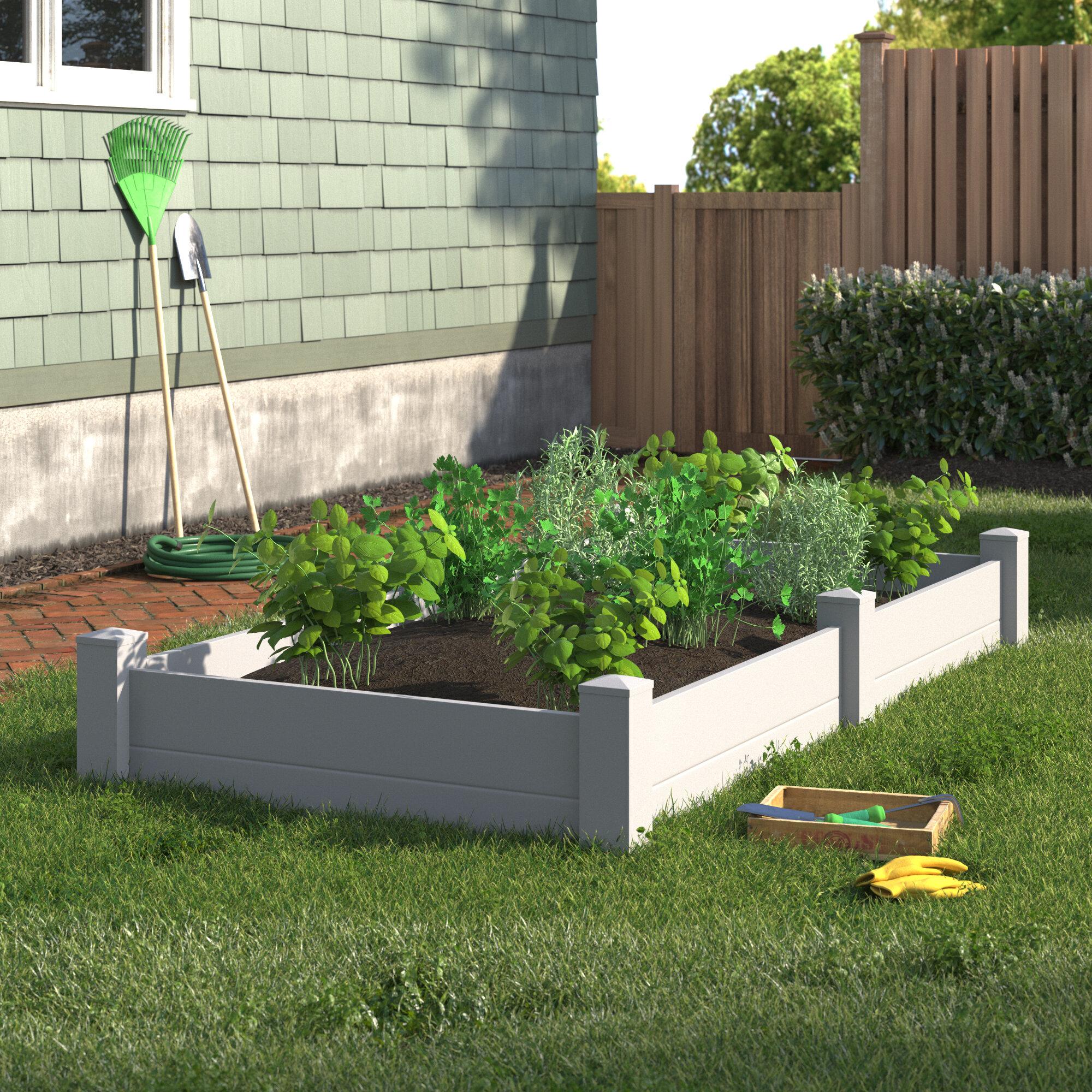 Plastic Raised Garden Planters You Ll Love In 2020 Wayfair