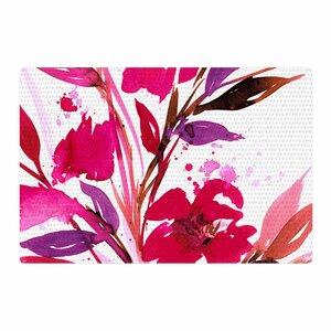 Ebi Emporium Pocket Full of Posies 11 Nature/Pink Area Rug