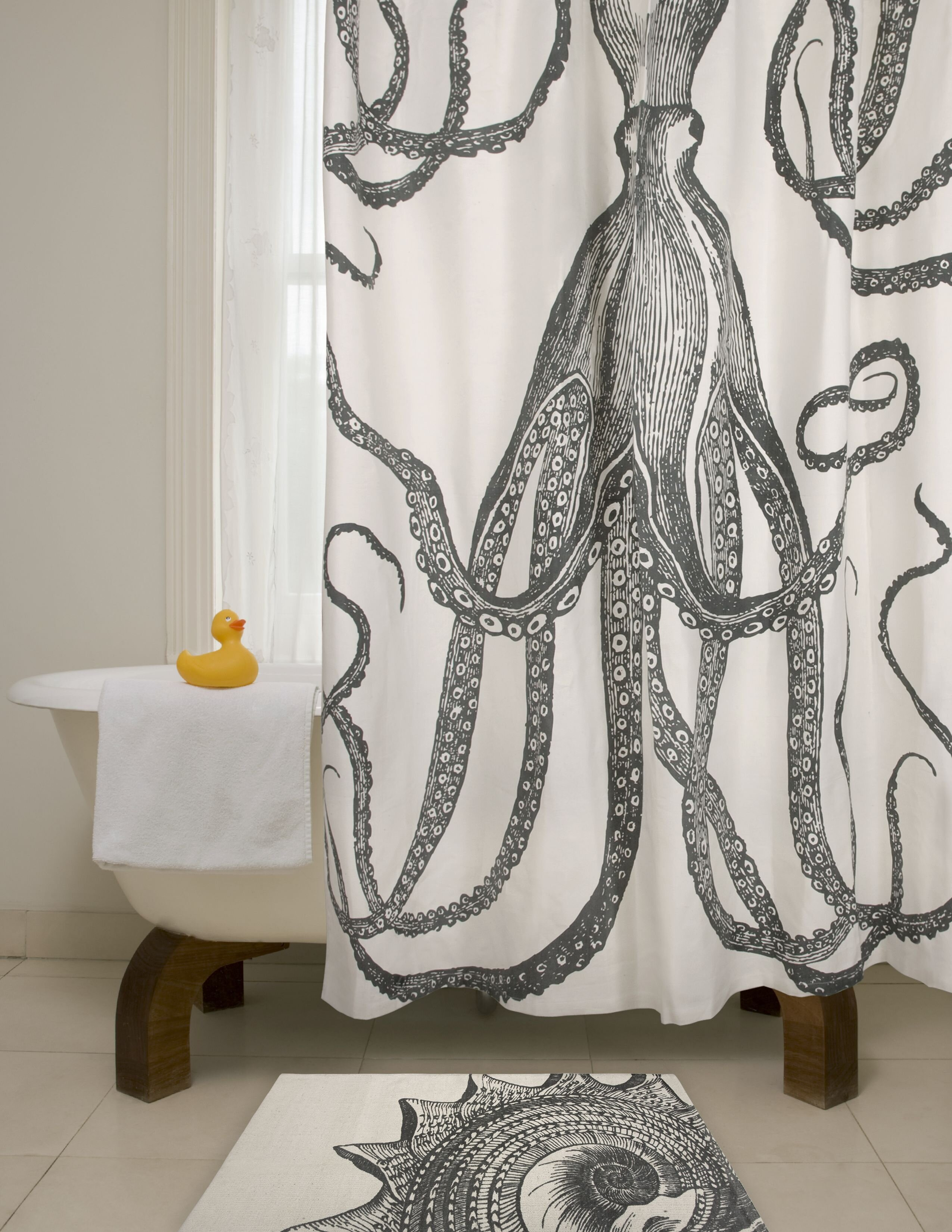 100 Cotton Breakwater Bay Shower Curtains Shower Liners You Ll Love In 2021 Wayfair